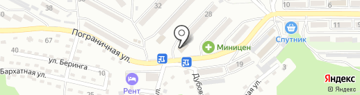 Скад на карте Находки