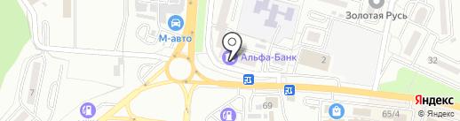 Мособлбанк, ПАО на карте Находки