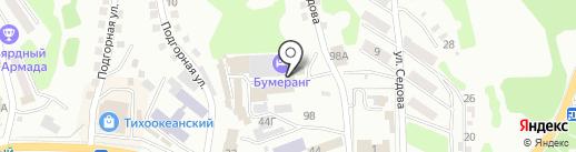 ПаблоТан-Зест и К на карте Находки