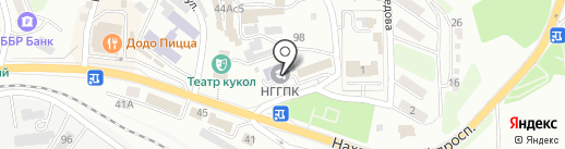 Находкинский государственный гуманитарно-политехнический колледж на карте Находки