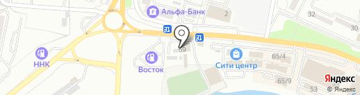 Посейдон на карте Находки