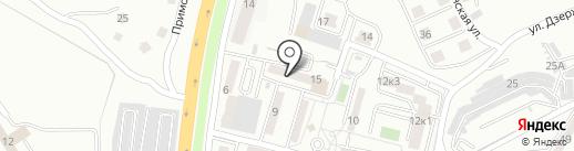 Компания Сельва на карте Находки