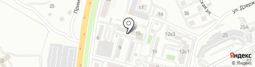 Де-Юре на карте Находки