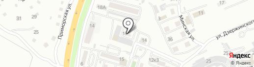 Огонек на карте Находки