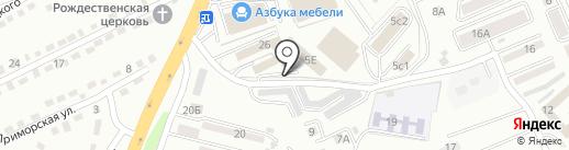 ДМК на карте Находки