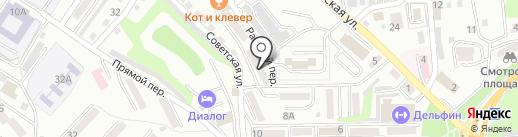 Находкинская стоматологическая поликлиника на карте Находки