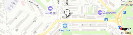 Колибри на карте Находки