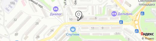 Почтовое отделение №22 на карте Находки