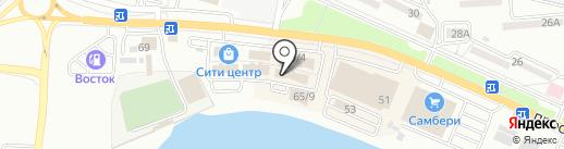 Zolla на карте Находки