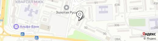 Подиум на карте Находки