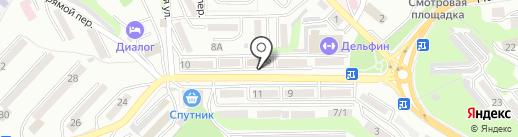 Вакансия на карте Находки