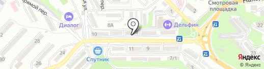 Адвокат Фесюк А.В. на карте Находки