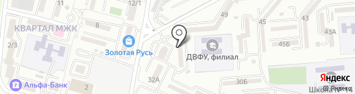 Компания на карте Находки