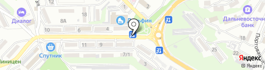 Сеть цветочных салонов на карте Находки