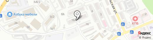 Фаворит, ТСЖ на карте Находки