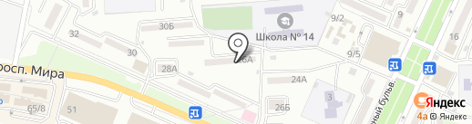 Компания Новый Мир на карте Находки
