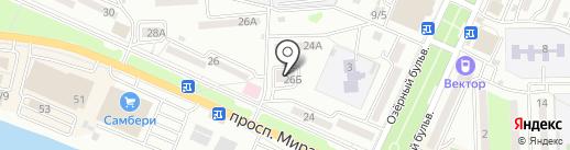Азбука жилья на карте Находки