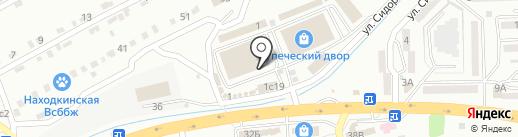 E-kvadrocikl на карте Находки