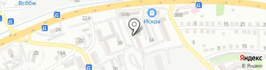 ДЕРСУ на карте Находки