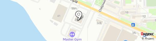 Приморец на карте Находки