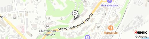 Находкинское предприятие инженерно-геологических и геодезических работ на карте Находки
