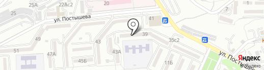 Август на карте Находки