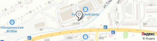 Цветочный салон на карте Находки