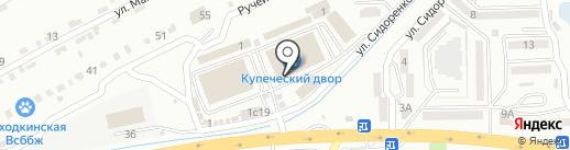 Арт-багет на карте Находки