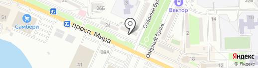 ВОИН на карте Находки