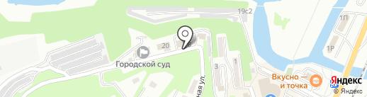 Управление архитектуры и градостроительства и рекламы администрации Находкинского городского округа на карте Находки