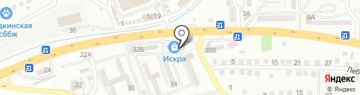 Продукты из Казахстана на карте Находки