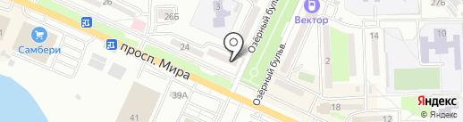 Комфорт на карте Находки