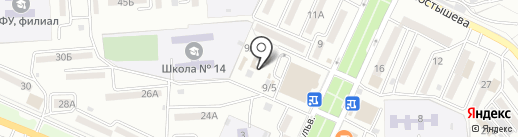 Магазин овощей и фруктов на карте Находки