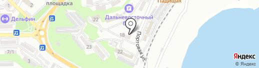 Полиграфия на карте Находки