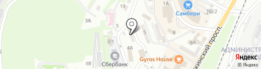 Содружество на карте Находки