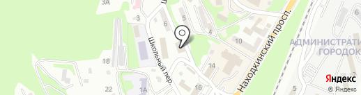 Развитие, МБУ на карте Находки