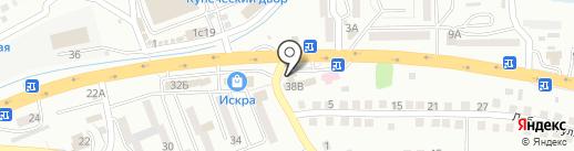 Магистраль на карте Находки