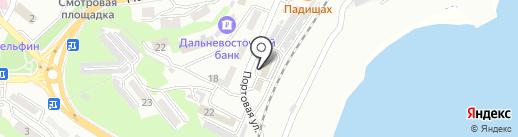 Росморпорт, ФГУП на карте Находки