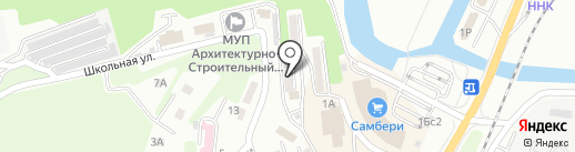Уютный дом на карте Находки