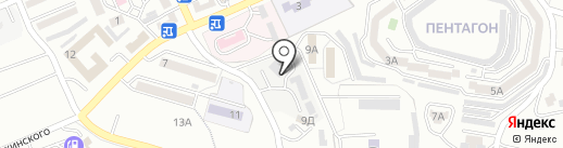 ПРОФЕССИОНАЛ на карте Находки