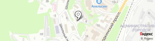 Рябинка на карте Находки
