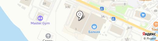 Балкия на карте Находки