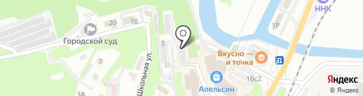 Приморпроект на карте Находки