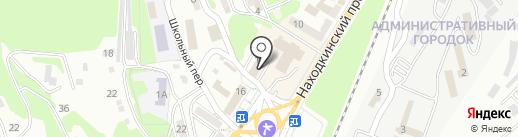Контрольно-счетная палата Находкинского городского округа на карте Находки