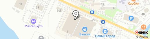Actuel на карте Находки