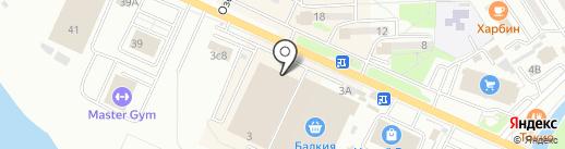 Рахат на карте Находки