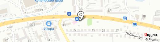 Шиномонтажная мастерская на карте Находки