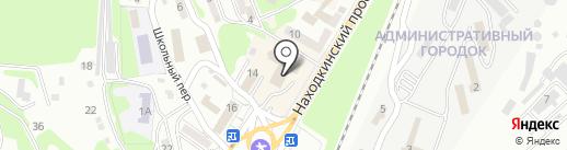 Магазин хлебобулочных и кондитерских изделий на карте Находки