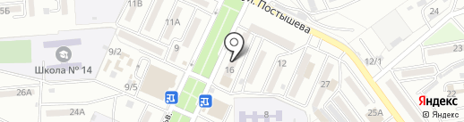 Колымская на карте Находки