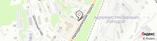 Банкомат, Банк ВТБ24 на карте Находки